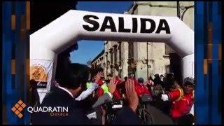 Inició la ruta ciclista y turística México-Centroamérica 2016 en Oaxaca