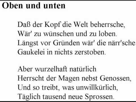 Wilhelm busch gedichte liebe