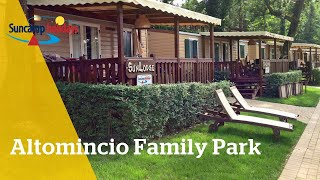 360° video campingtour op Camping Altomincio Family Park - Suncamp holidays