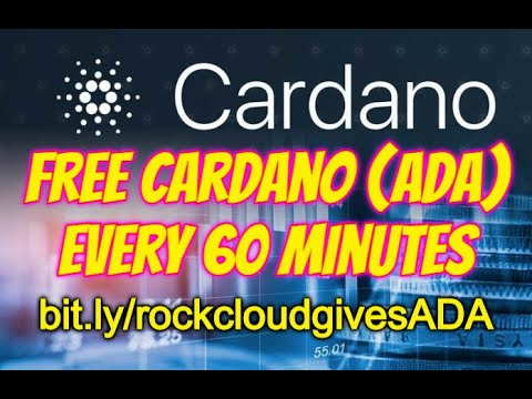 FREE Cardano (ADA) Cryptocurrency - Claim up to $300 EVERY 60 MINUTES 1