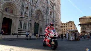 MotoGP™ rolls through the streets of Florence