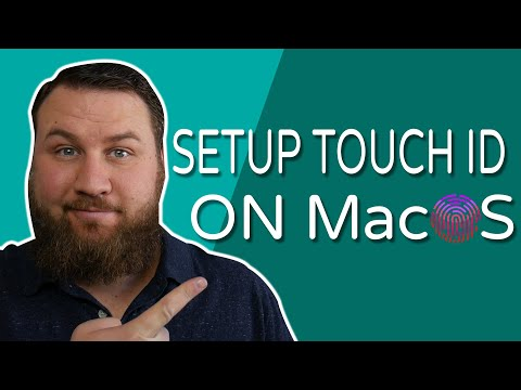 Easiest Way to Setup Touch ID on a MacBook Pro