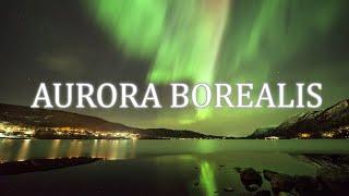【4K】Aurora borealis Ambient Film + Spectacular music Study,Yoga,Sleep,Reading