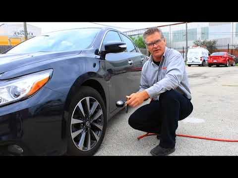EXELAIR™ Digital Pistol Grip Tire Inflator/Deflator Gauge -Air Compressor Accessory/Tool