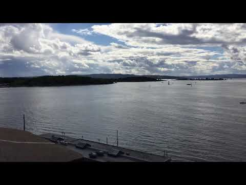 Oslo Harbor and Waterfront from Akershus Castle - August 2017