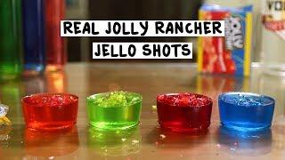 Real Jolly Rancher Jello Shots