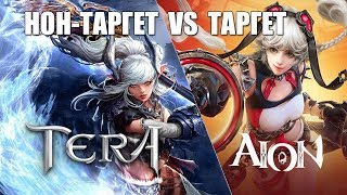 Target VS Non-Target (AION, RF, PW против TERA и других)