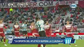 Roly Zárate: ''El pase de Lautaro Martínez al Atlético de Madrid se hará en un 99 %''