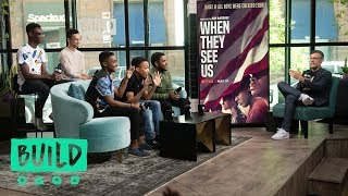 Jharrel_Jerome,_Ethan_Herisse,_Caleel_Harris,_Marquis_Rodriguez_&_Asante_Blackk_Speak_On_Netflix's_