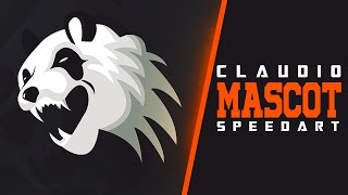 MASCOT LOGO FOR CLAUDIO ARTZ || Speed Art #6.