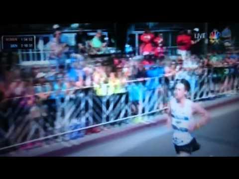 2016 U.S. Olympic Team Trials Marathon - Galen Rupp 1st, Meb Keflezighi 2nd, Jared Ward 3rd