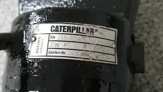 BUCHER   CATERPILLER. 굴착기 실린더 …
