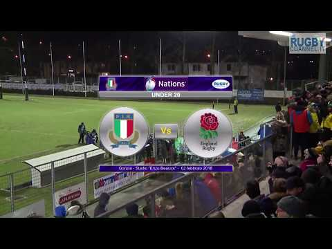 6Nations Under20 -  Italia v Inghilterra