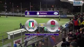 6Nations Under20 -  Italia v Inghilterra