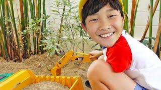 [30Min] Car Toy Assembly Power Wheels Excavator, Dump Truck Toys Activity