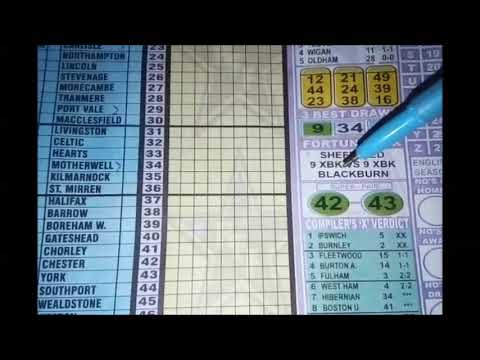 Week 36 Right-On Football Fixtures Pool banker - YouTube