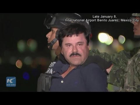 RAW: Guzman transferred to prison, more on-scene video disclosed about arrest