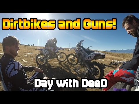 Dirtbikes and Guns! | Day with DeeO #80