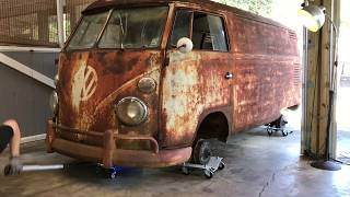 1962 Volkswagen Bus, VW Type 2 - RESTORATION!!! Engine Removal!!! VW Panelvan, VW Kombi, VW Bus