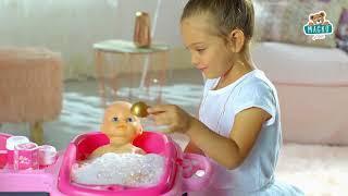 Babaház játékbabának Baby Nurse Arany sorozat Smob