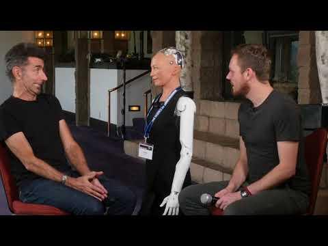 Consciousness Central 2018 - Program 5 with Sophia the Robot, David Hanson, Julia Mossbridge