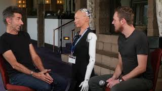 Consciousness Central 2018  Program 5 with Sophia the Robot, David Hanson, Julia Mossbridge