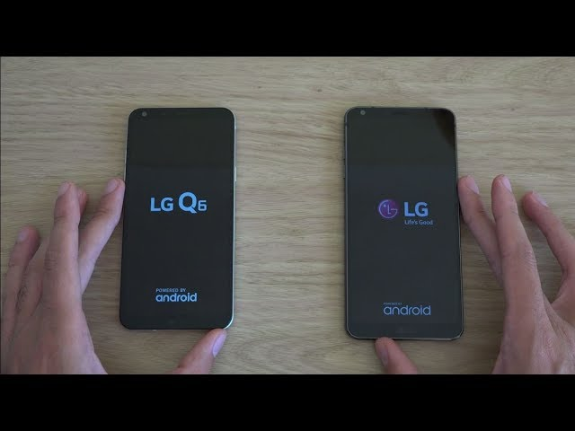 LG Q6 and LG G6 - Which is Fastest?