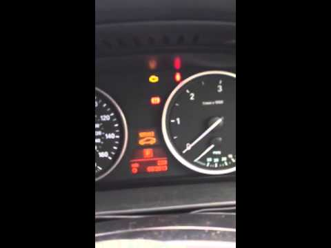 BMW 5 series E60 2008 M5 oil service reset