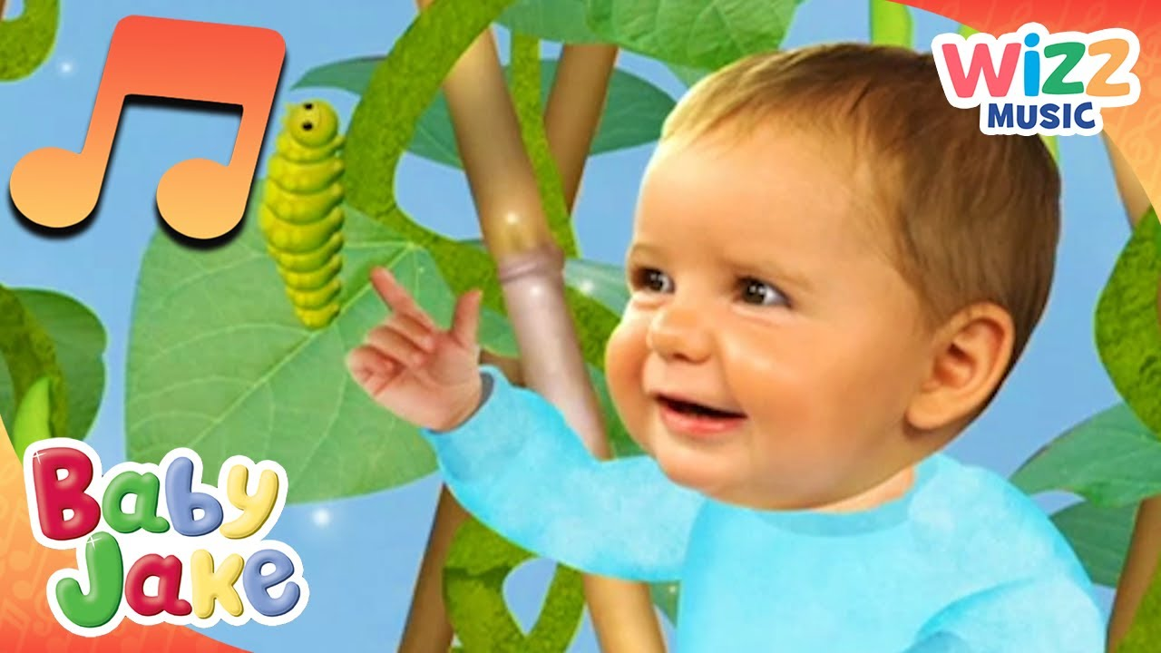 Baby Jake Finds a Caterpillar | Songs for Kids | Baby Jake ...
