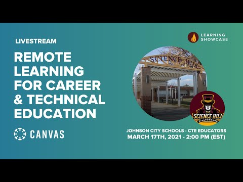 Remote Learning for Career & Technical Education