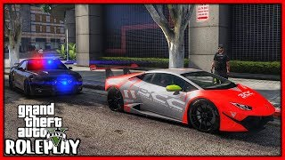 GTA 5 Roleplay - 'DDE' Lamborghini Cop Chase | RedlineRP #686