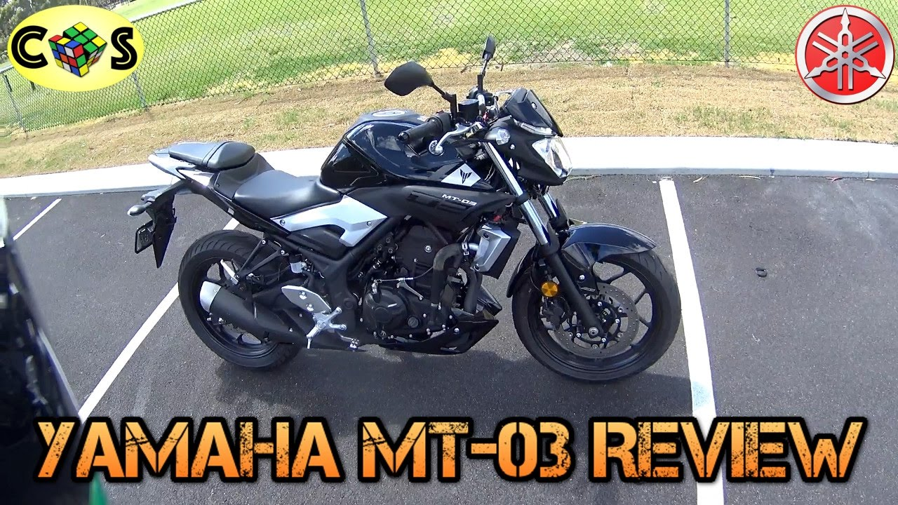 2016 Yamaha Mt03 Review Youtube