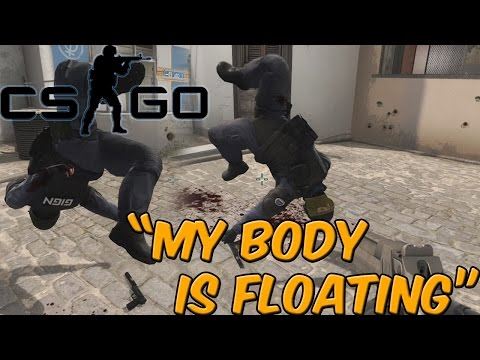 CSGO Funny Moments - Flying Bodies, Karaoke, and Barrels (Counter Strike Global Offensive)