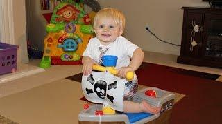 Little Tikes Ride-on Pirate Ship Toy
