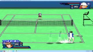 Prince of tennis Smash hit 2 ryoma vs fuji