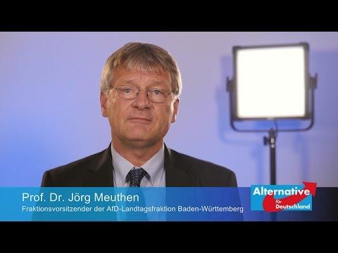 AfD Prof. Dr. Jörg Meuthen Videobotschaft 4/2016
