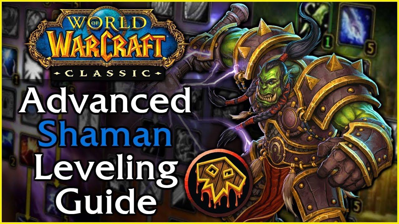 wow classic shaman leveling spec