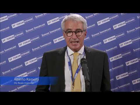 Alberto Ramella - Reale Immobili | 29° Forum Scenari