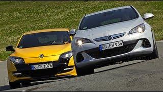 Renault Mégane RS vs. Opel Astra OPC
