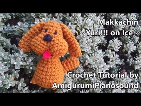 Makkachin Crochet Poodle Dog Tutorial -Yuri!! on ice