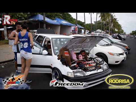 Car show playa Puntarenas Costa Rica