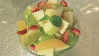 Теплый фруктовый салат. Рецепт от шеф-повара.