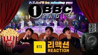 [ENG SUB]BTS 'I'll Be Missing You + P.T.D' BBC Radio 1 Reaction/비비씨 라디오 원 리액션 2부 🎬 [이유있는 영화관]