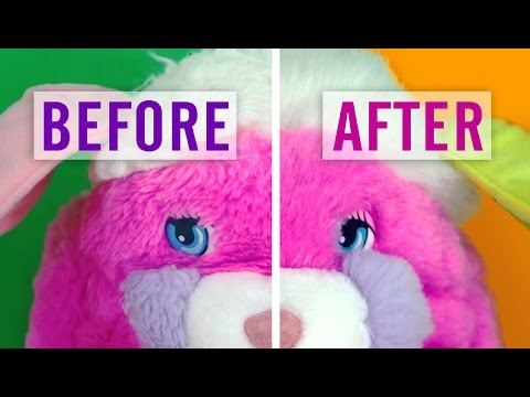 How to Fix Stuffed Animal Fur from Dryer Damage and More!