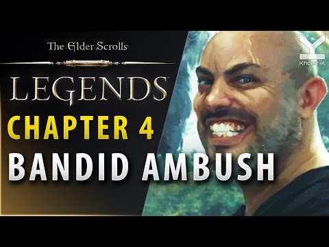The Elder Scrolls Legends - Act 1 - Chapter 4 - Bandid Ambush