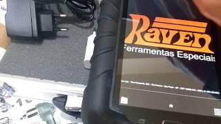 unboxing Scanner Raven 3 - Detalhes e informações - Capital Ferramentas
