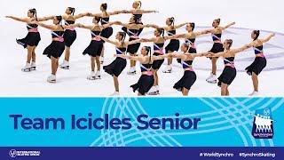 Team Icicles Senior (GBR)   Helsinki 2019   #WorldSynchro