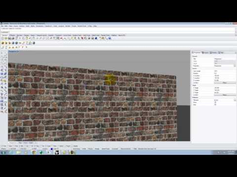 Lecture 208 - Texture Mapping in Rhino and V-Ray - Spring 2015