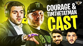 COURAGE AND TIMTHETATMAN CAST NICKMERCS AND SYPHERPK! (Fortnite: Battle Royale)