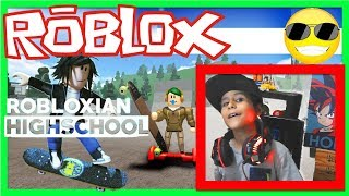 SKATE PARK Robloxian Highschool Roblox Gameplay 🎮 😀 😎